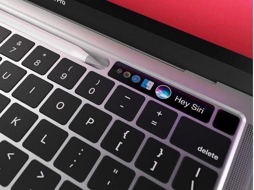MacBook Pro cho thay dai Touch Bar